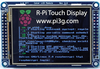 Figure 4: The pi3g touch display kits are compatible with both Model B and Model B+.
