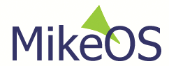 Figure 3: The MikeOS logo was created by someone who just happened to randomly come across the project, but it has survived the test of time.