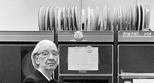 Figure 1: US Navy Rear Admiral Grace Hopper had a huge influence on modern computing and helped create COBOL.