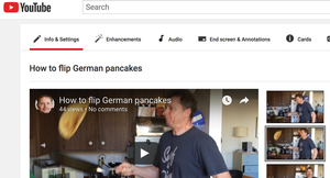 Figure 1: Mike Schilli as a pancake tossing chef on YouTube.