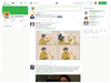 Figure 1: Halcyon is a web client that makes your Mastodon feed look like the old Twitter.