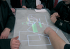 Figure 2: Inventor Pascal Schmitt presented a light table with multi-touch functionality.