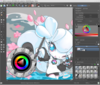Krita default interface