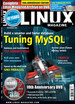 10th anniversary edition of Linux Magazine
