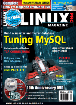 10th anniversary edition of Linux Pro Magazine