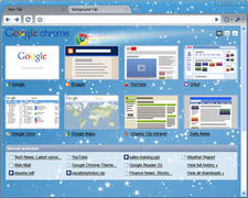 Google Chrome 3 Themes screenshot