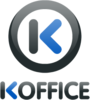 The K shows the KDE origin of the free office suite.