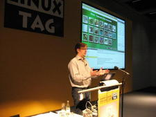 Matthias Ettrich at LinuxTag 2009